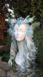Water Sprite Head Dress by Firefly-Path