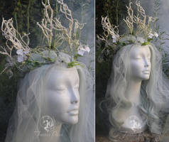 Moth Faerie Headdress by Firefly-Path
