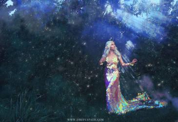 Unicorn Mermaid Dress by Firefly-Path
