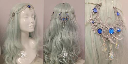 Princess Alyndra Elora Moonflower Circlet by Firefly-Path
