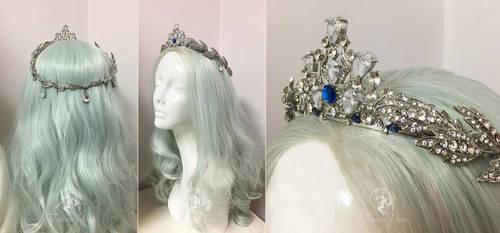Princess Alyndra Elora Moonflower Crown by Firefly-Path
