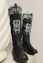 Princess Alyndra Elora Moonflower Boots by Firefly-Path