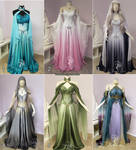 Choose your own Elven Gown by Firefly-Path