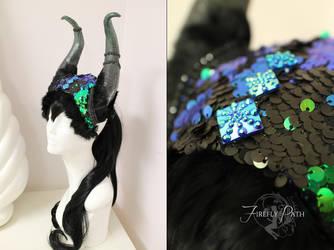 Rutina Headdress by Firefly-Path