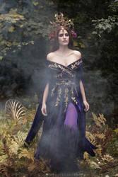 Through the Autumn Mist by Firefly-Path