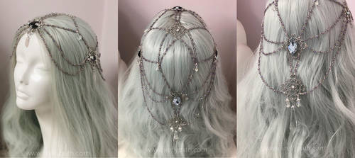 Stardust Hair Lariat by Firefly-Path