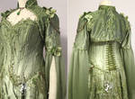 Nature Goddess Gown (detail view) by Firefly-Path