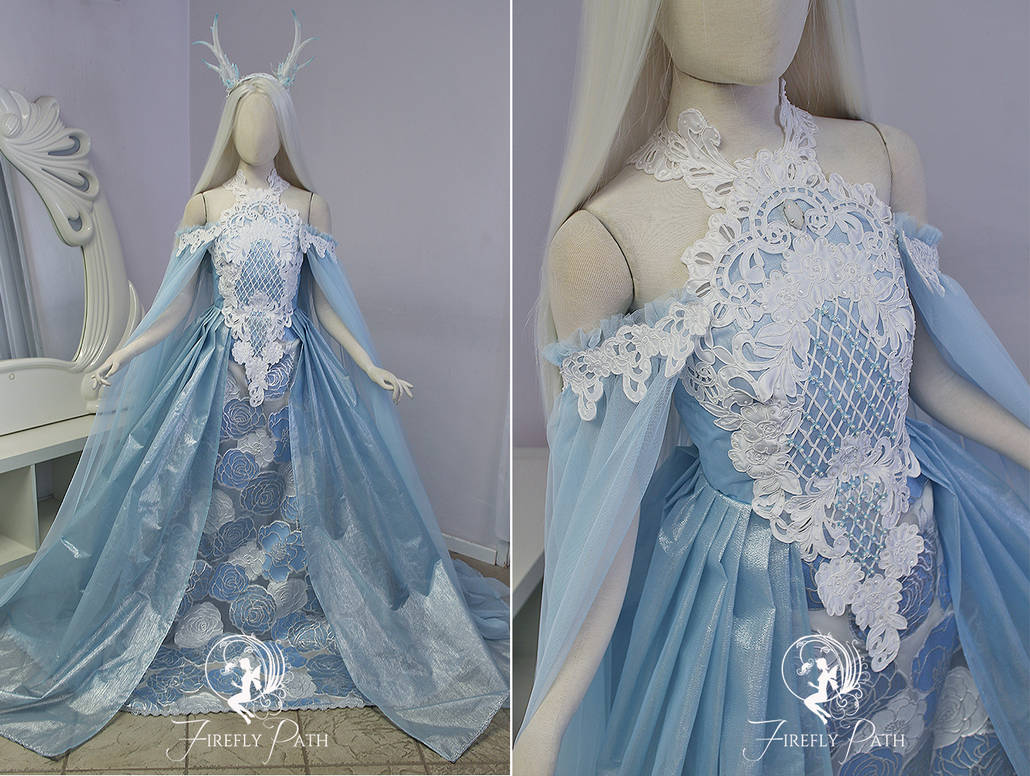 Frost Rose Gown by Firefly-Path