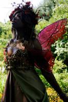 Autumn Season Faerie by Firefly-Path