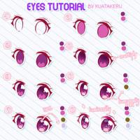 Eyes Tutorial by KuaTakeru