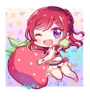 Maki in Fruit Swimsuit by KuaTakeru