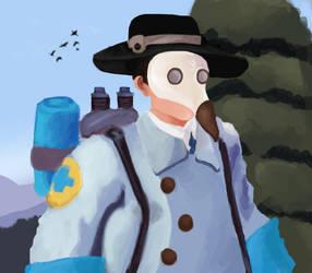 Plague Medic doctor by nexusnookienog