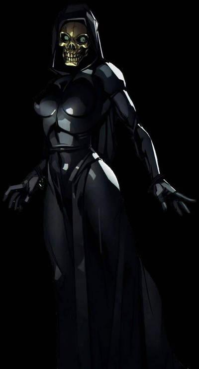 Death (Marvel Comics) by FictionalOmniverse