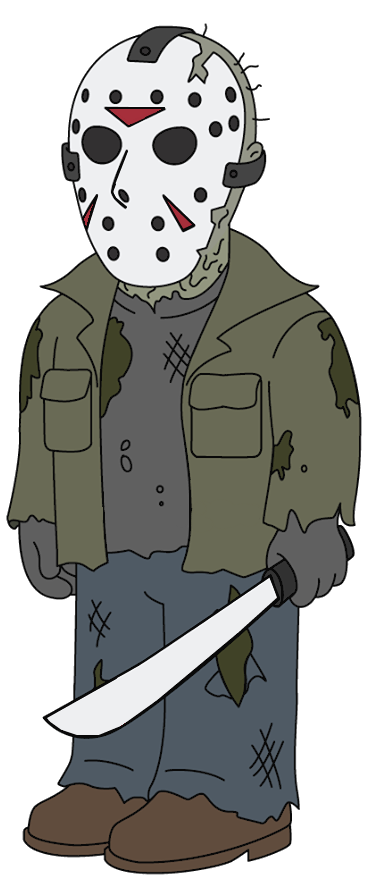 Jason Voorhees (Family Guy) by FictionalOmniverse