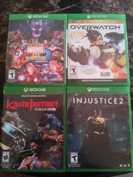 New Games for my XB1 by MarkellBarnes360