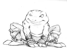 Ordinary Toad Fighter by runde