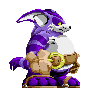 Big the Cat sprite version 3 by runde