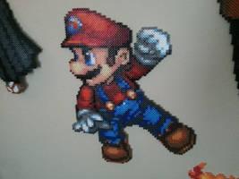 Perler Mario by Bgoodfinger