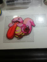 Lickitung perler by Bgoodfinger