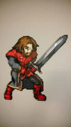 Ned Stark, Game of Thrones Perler by Bgoodfinger
