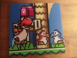 Super Mario World Commish WIP by Bgoodfinger
