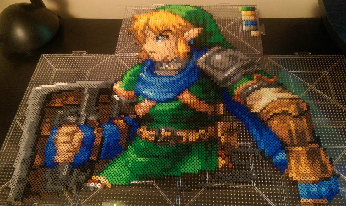 Hyrule Warriors Link WIP2  .:Update:. by Bgoodfinger