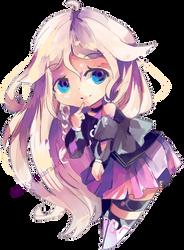 Chibi IA by KyouKaraa