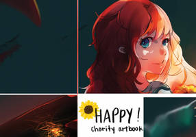 Happy! Charity artbook Preview by KyouKaraa