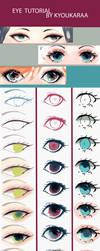 Eye Tutorial (+Video) by KyouKaraa