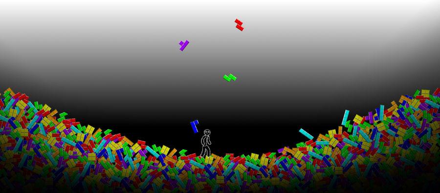 Tetris Wallpaper By Wormyish On Deviantart