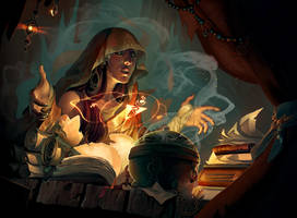 Hand of the Gods: Prescience by Eksafael