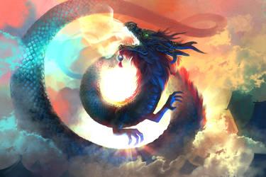Dragon King by Eksafael