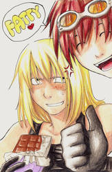 haha. Mello fatty xD by Razurichan