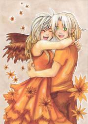 ::In Orange:: by Razurichan
