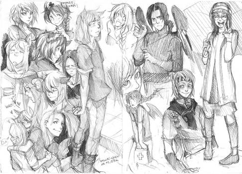 sketches 19.11 by Razurichan