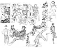 Schoolworks by Razurichan