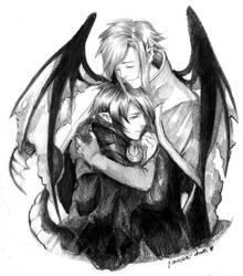 Ilquinis and Alarius by Razurichan