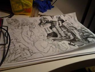 work in progress by Razurichan