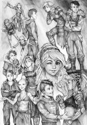 Adventurers by Razurichan