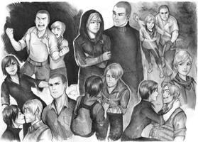 Resident Evil by Razurichan