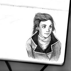 Caroline the stranger by Razurichan