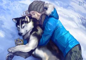 Snow eden by Razurichan