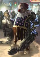 You play with the wrong clown kiddo!!! by Farishariyanto