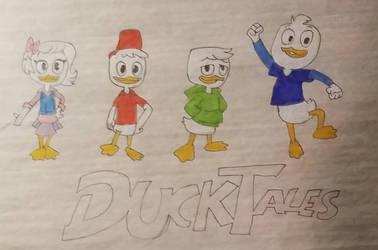 Ducktales Characters  by Phoenixtdm