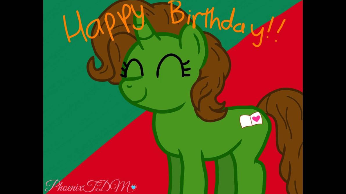 Happy birthday!  by Phoenixtdm