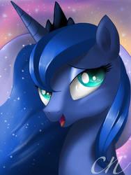 Luna Portrait by Sunshineshiny