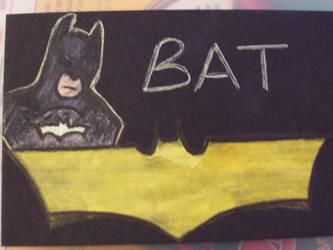 Batman ATC by cherith