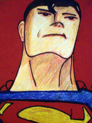 Another Superman ATC by cherith