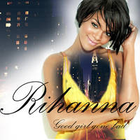 rihanna cd cover by Goldphishy
