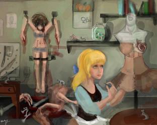 cinderella horror story by Goldphishy